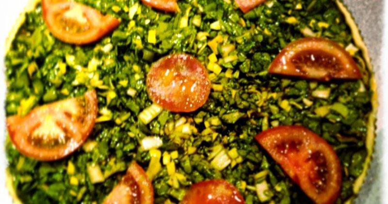Mercat Santa Catalina Receta coca jonquillo con verduras de Ses Cuineres de Binissalem