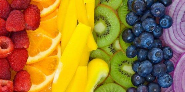 Propiedades de los alimentos según su color