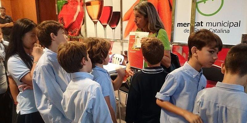 mercat de santa catalina escola al mercat