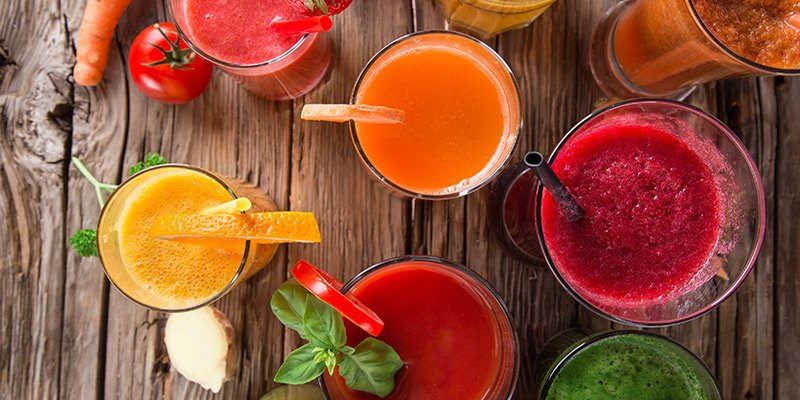 Detox juices recipes