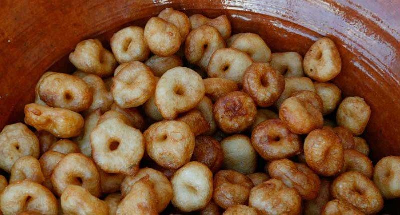 receta de Buñuelos de patata mallorquines mercado de santa catalina mallorca