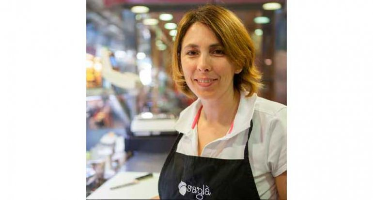 charcuteria sagla en mercado de santa catalina mallorca