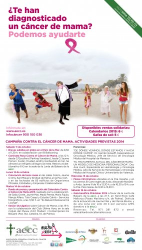 Mercat Santa Catalina involved in the campaign against Breast Cancer