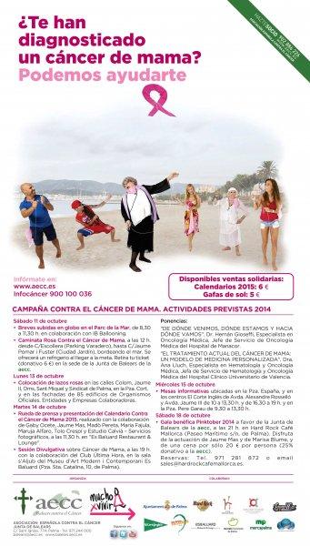 Mercado Santa Catalina y Marcha rosa contra el cancer de mama