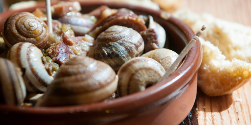 Snails, traditional recipe from Mallorca