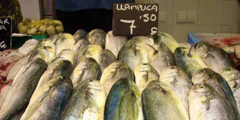 llampuga del mercat de santa catalina mallorca