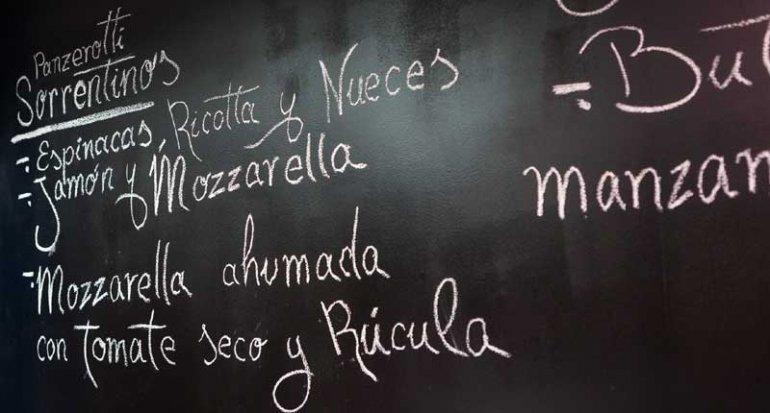 La Sorrentina pasta fresca italiana en mercado de santa catalina mallorca