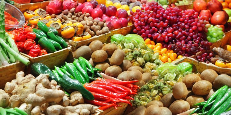 Advantages of the consume of fruits and vegetables every day