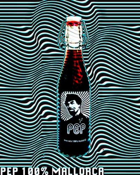 Presentacion de Pep Cola en el mercado de Santa catalina