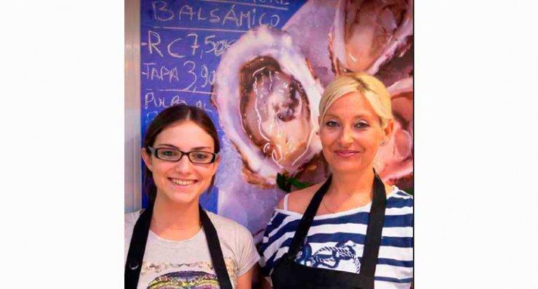Marisqueria Ca S Ostra en Mercado de santa catalina mallorca