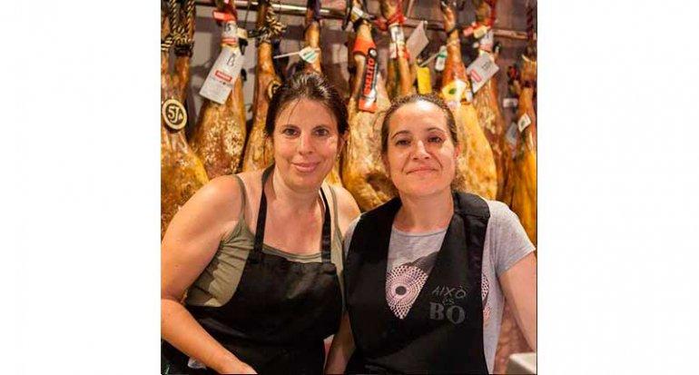 Charcuteria Aixo es Bo en mercado de santa catalina mallorca productos el bierzo
