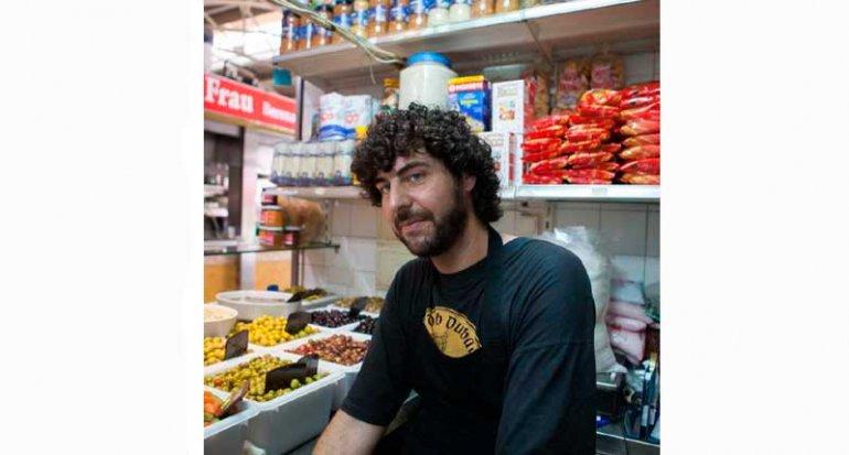 Encurtidos es rebost den Pep mercado de santa catalina