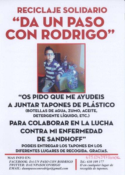 Reciclaje Solidario Da un paso con rodrigo en Mercado de Santa Catalina