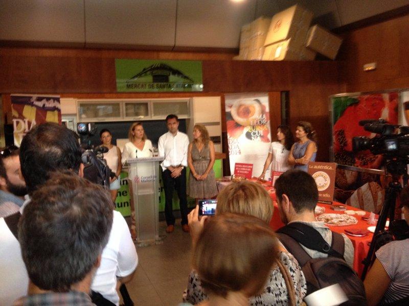 Mallorcuina Jornadas Gastronomicas presentación en Mercado Santa Catalina
