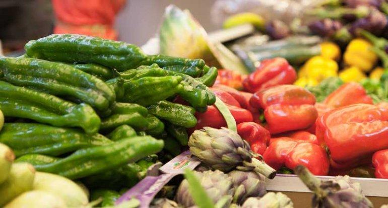Frutas y verduras Daniel en Mercado de Santa Catalina Mallorca