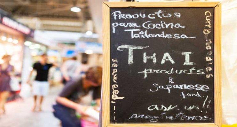 Frutas Ramon en Mercado de Santa Catalina Mallorca