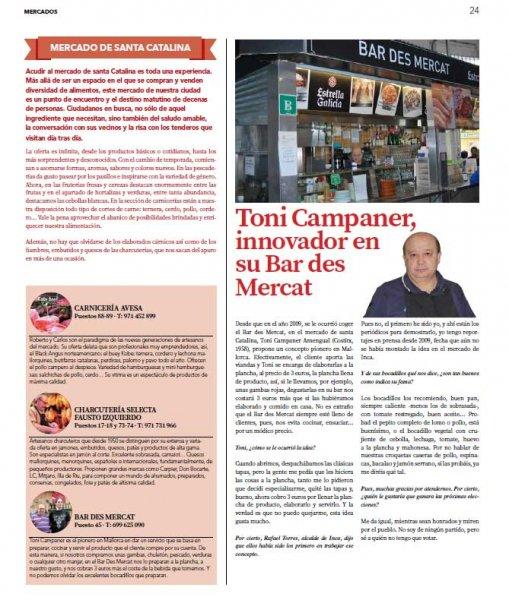 Mallorca a la Carta Mayo 2015