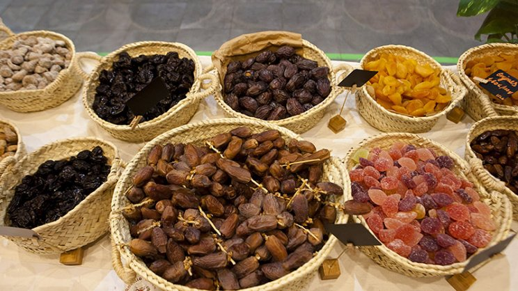 Mercat de Santa Catalina frutos secos Tambo Dametla