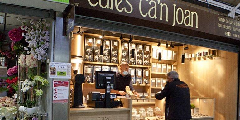 Mercat Santa Catalina Cafes Can Joan