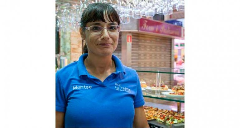 Bar La Tapita montaditos en mercado de santa catalina mallorca